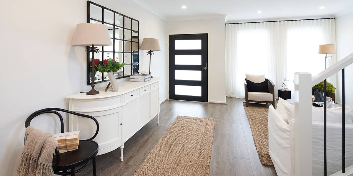 How to make the most of transitional spaces in your new build home