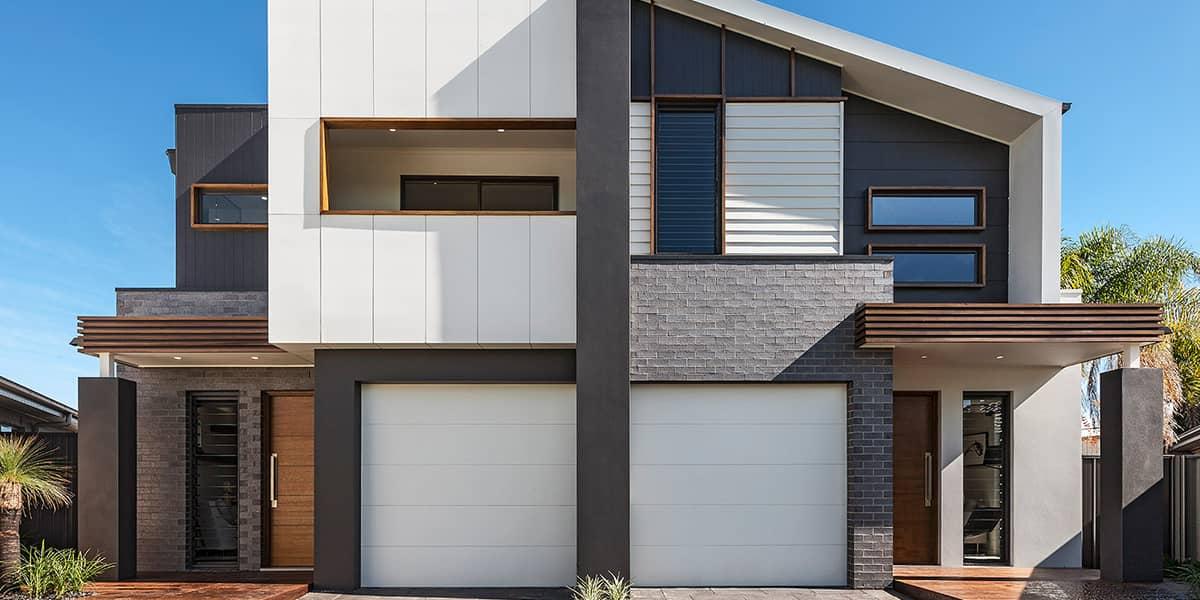 Duplex Home Design: the quiet achiever