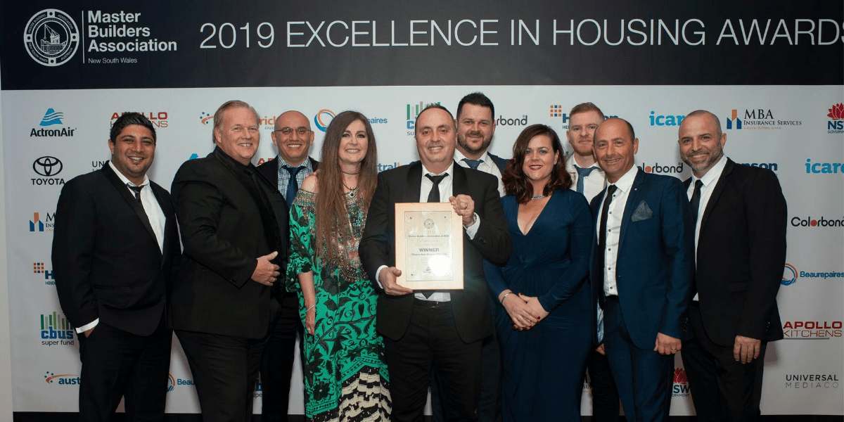 Overture Exclusive takes out new build home award for Best Display Home